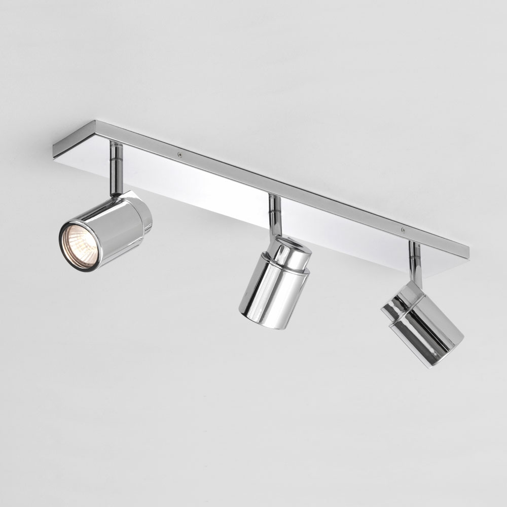 Como Triple Bar Spotlight - Polished Chrome